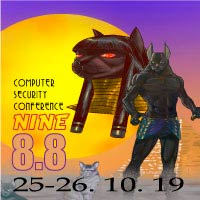 "8.8 Computer Security Conference ""Nine"" Teatro Oriente - Providencia"
