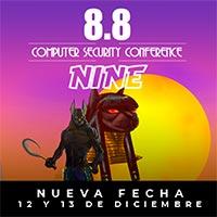 """8.8 Computer Security Conference """"Nine"""" Cine Arte Normandie - Santiago"""