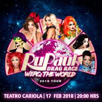 RuPaul s Drag Race: Queens Werq The World Teatro Cariola - Santiago
