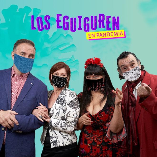 Los Eguiguren en Pandemia a Beneficio Hogar de Cristo Streaming Punto Play - Santiago