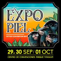 Expo Piel Tattoo Convention 2017 Centro de convenciones Parque Titanium  - Las Condes