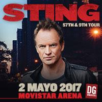 Sting Movistar Arena - Santiago