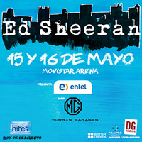 Ed Sheeran Movistar Arena - Santiago