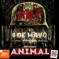 Slayer Movistar Arena - Santiago