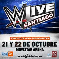 WWE Live Santiago Movistar Arena - Santiago
