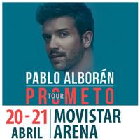 Pablo Alborán Movistar Arena - Santiago