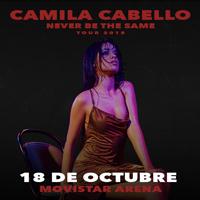 Camila Cabello Movistar Arena - Santiago