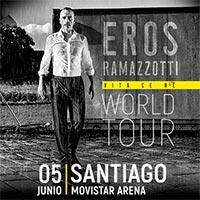 Eros Ramazzotti Movistar Arena - Santiago