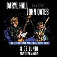 Daryl Hall & John Oates Movistar Arena - Santiago