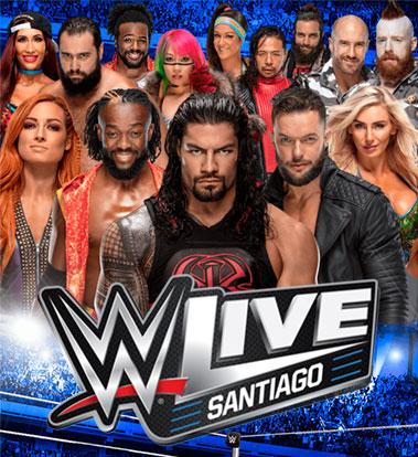 Imagen WWE Live Santiago