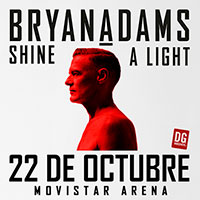 Bryan Adams Movistar Arena - Santiago
