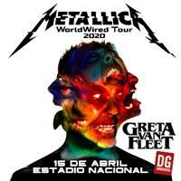 Metallica | Estadio Nacional - Santiago | 15 de abril 2020