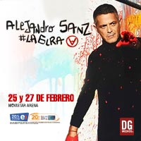 Alejandro Sanz | Movistar Arena - Santiago | Marzo 2020