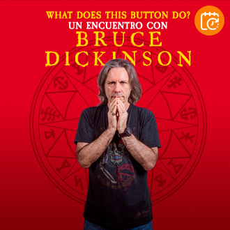 Bruce Dickinson - What Does This Button Do? | Centro de las Artes 660 | 23 de agosto 2020