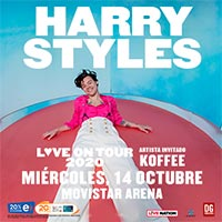 Harry Styles - Love on tour 2020 | Movistar Arena | 14 de octubre 2020