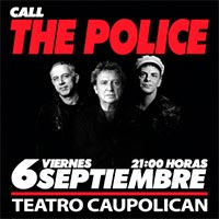 Call The Police Andy Summers Teatro Caupolicán - Santiago