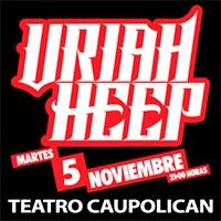 Uriah Heep Teatro Caupolicán - Santiago