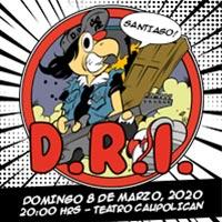 D.R.I. Teatro Caupolicán - Santiago