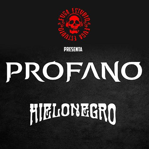 Profano - Hielo Negro Teatro Caupolicán - Santiago