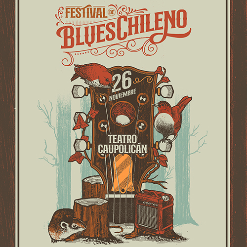 Festival de Blues Chileno Teatro Caupolicán - Santiago