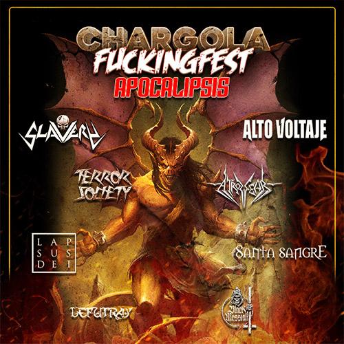 Chargola Fukingfest Apocalipsis Teatro Caupolicán - Santiago