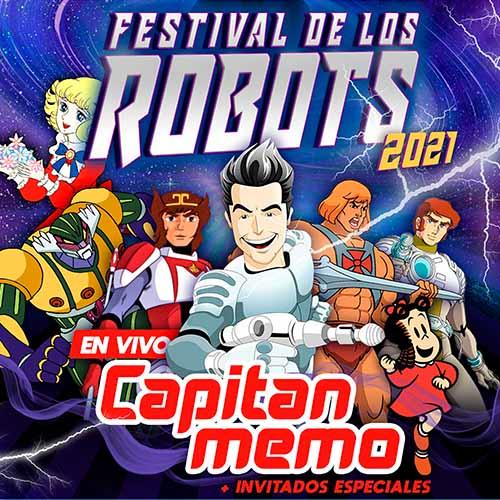 El Festival de los Robots Teatro Caupolicán - Santiago