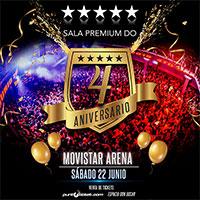 Aniversario Sala Premium Do Movistar Arena - Santiago