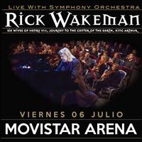 Rick Wakeman Live with Symphony Orchestra Movistar Arena - Santiago