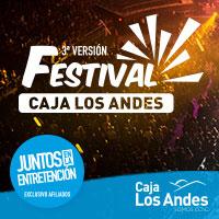 Festival Caja Los Andes 2014 Movistar Arena - Santiago