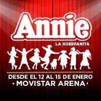 Annie Movistar Arena - Santiago