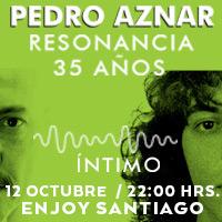 Pedro Aznar Enjoy Santiago - Los Andes