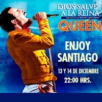 Dios Salve a la Reina Enjoy Santiago - Los Andes