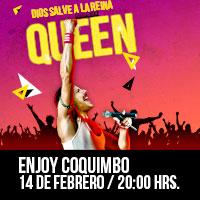 Dios Salve a la Reina Enjoy Coquimbo - Coquimbo