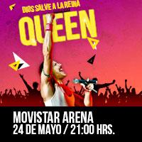 Dios Salve a la Reina Movistar Arena - Santiago
