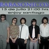 Babasonicos Enjoy Santiago - Los Andes
