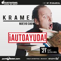 Kramer Nuevo Show ¡Autoayuda! Enjoy Santiago - Los Andes