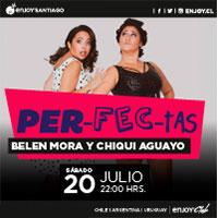 Belén Mora y Chiqui Aguayo Enjoy Santiago - Los Andes
