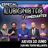 Especial Ilusionista y Comediantes Teatro Bellavista - Providencia