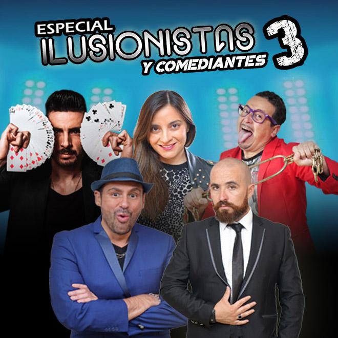 Especial Ilusionistas y Comediantes 3 Streaming Punto Play - Santiago