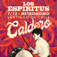 Los Espíritus Sala Metrónomo - Santiago