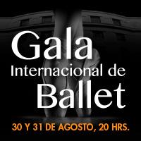 Gala internacional de ballet Teatro Oriente - Providencia