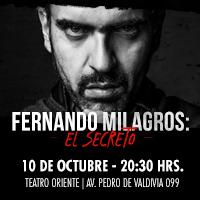 Fernando milagros: el secreto Teatro Oriente - Providencia