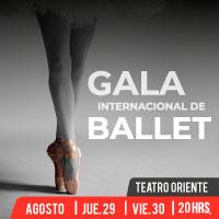 Gala Internacional de Ballet de Providencia 2019 Teatro Oriente - Providencia