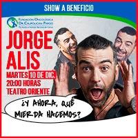 Jorge Alís Teatro Oriente - Providencia