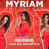 Myriam Hernández Casa del Deportista, Iquique - Iquique