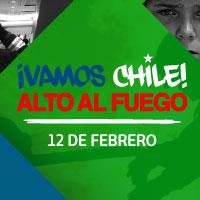 ¡Vamos Chile! Movistar Arena - Santiago