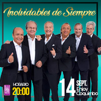 Inolvidables de Siempre Enjoy Coquimbo - Coquimbo