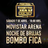Festival Construman Movistar Arena - Santiago