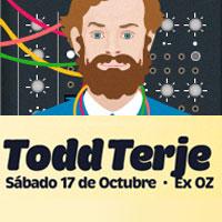 Todd Terje @Club Fauna Centro de Eventos Cerro Bellavista (Ex OZ) - Providencia