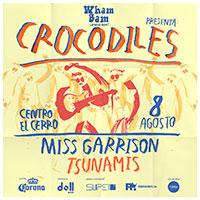 Crocodiles @ Wham Bam Centro El Cerro - Recoleta